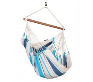 Hamac Chaise Caribeña Aqua Blue